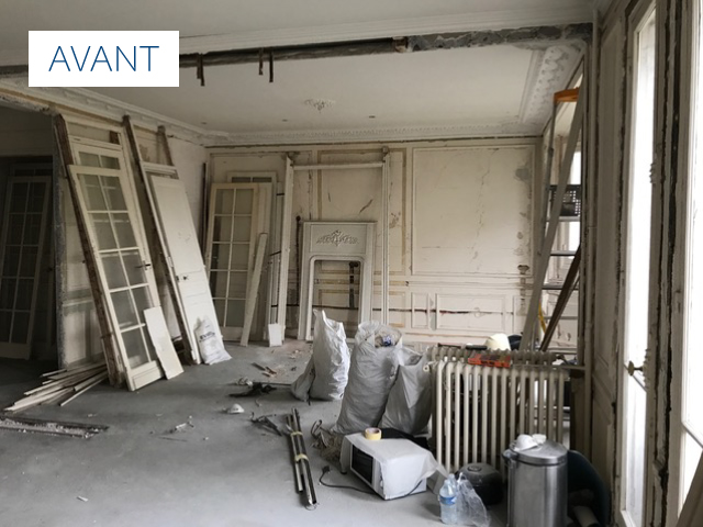rénovation avant maison